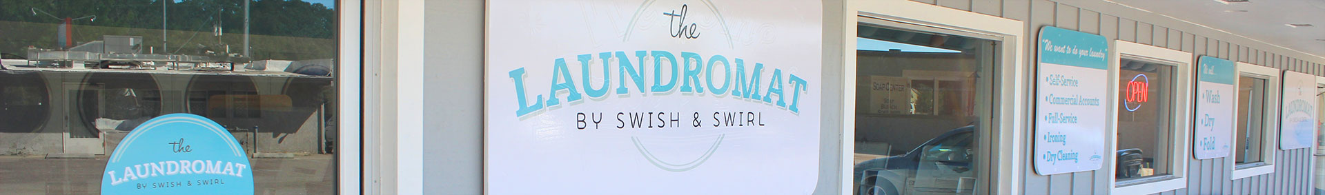 Laundromat Atascadero Laundry Services - Wash and Fold - Business Laundry - Swish and Swirl Laundromat